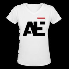 Women's V-Neck T-Shirt by Aaron Ekblad