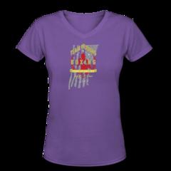 Women's V-Neck T-Shirt by Jamel Herring