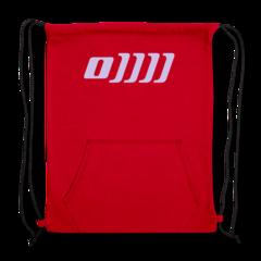 Sweatshirt Cinch Bag by Mandy Ogle