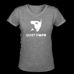 Women's V-Neck T-Shirt by Randa Markos