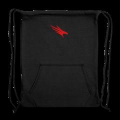 Sweatshirt Cinch Bag by Firehawks Lacrosse Club