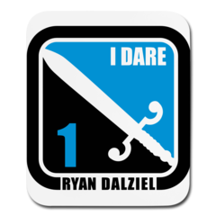 Mouse pad Vertical by Ryan Dalziel