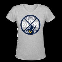 Women's V-Neck T-Shirt by Derrick Coleman