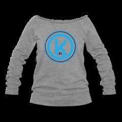 Women's Wideneck Sweatshirt by Kyle Okposo