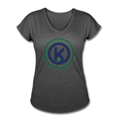 Women's V-Neck Tri-Blend T-Shirt by Kyle Okposo