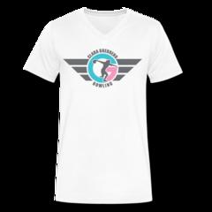 Men's V-Neck T-Shirt by Clara Guerrero
