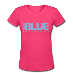 Women's V-Neck T-Shirt by William Trubridge