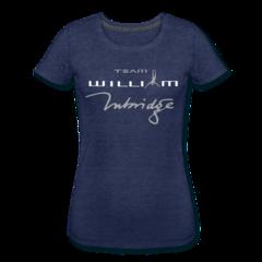 Women's Tri-Blend Performance T-Shirt by William Trubridge