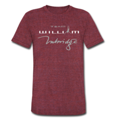Unisex Tri-Blend T-Shirt by William Trubridge
